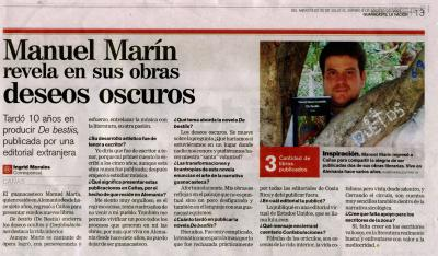 Entrevista en Guanacaste La Nación: De bestiis.